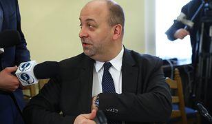 Po wybuchu afery w Ministerstwie Sprawiedliwości Łukasz Piebiak podał się do dymisji