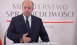 Były wiceminister sprawiedliwości Łukasz Piebiak miał wrócić do orzekania