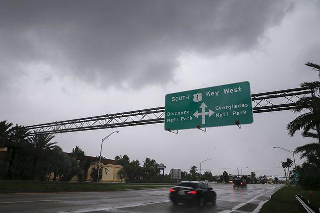 Huragan Irma zbliża się do Key West na Florydzie