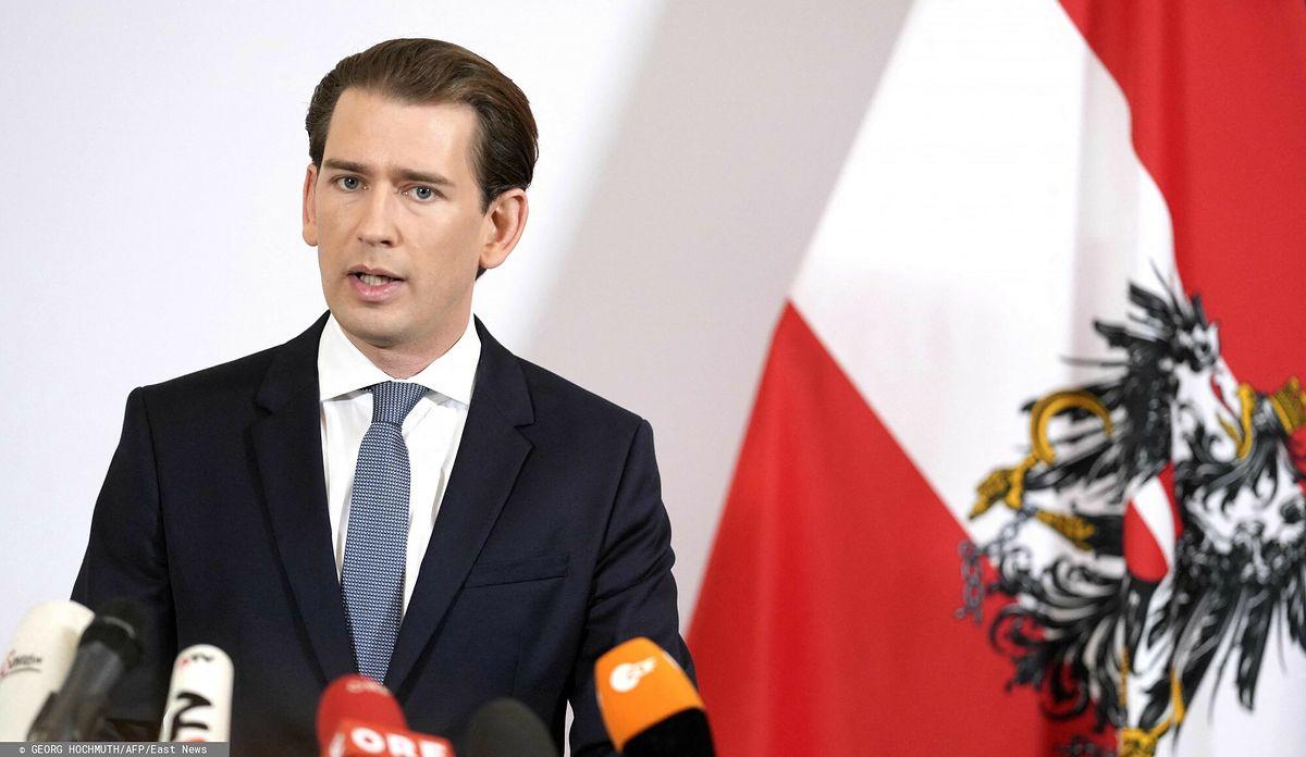 Austria. Kanclerz Sebastian Kurz podał się do dymisji