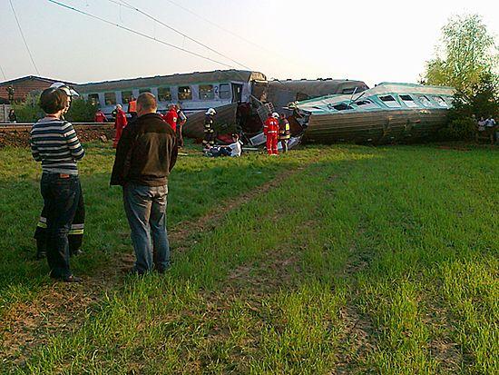 Kierowca tira uderzył w pociąg - usłyszy zarzuty?