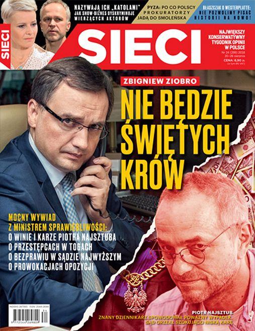Zbigniew Ziobro zapowiada: nie będzie świętych krów