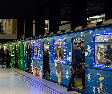 Warszawa: świąteczne metro pojawi się już 6 grudnia