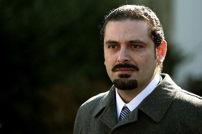 Premier Libanu Saad al-Hariri podał się do dymisji w obawie o swoje życie