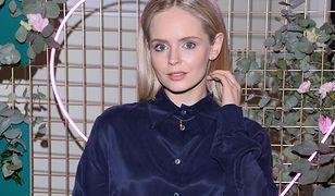 Trendy 2020: Olga Kalicka w kwiecistej sukience na lato