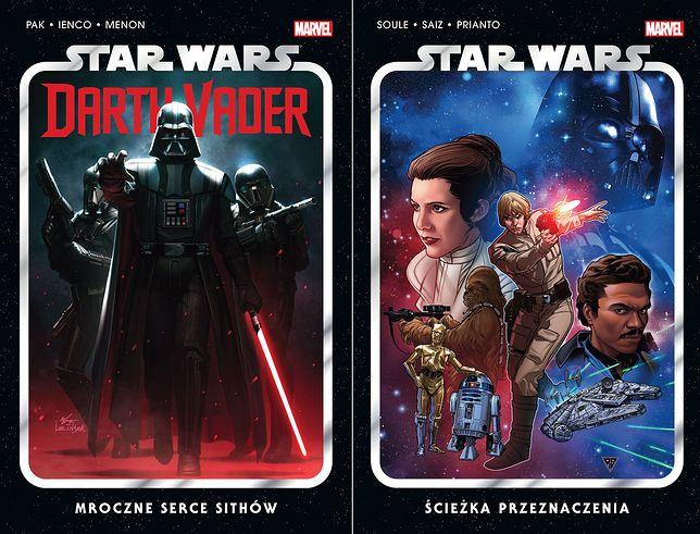"""""""Ścieżka przeznaczenia"""" i """"Mroczne serce Sithów"""" to pierwsze tomy nowych serii """"Star Wars"""""""