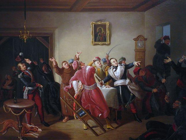 Konfederacja barska pędzlem Kornelego Szlegela