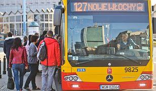 Kandydaci reklamowali się w pojazdach należących do Miejskich Zakładów Autobusowych