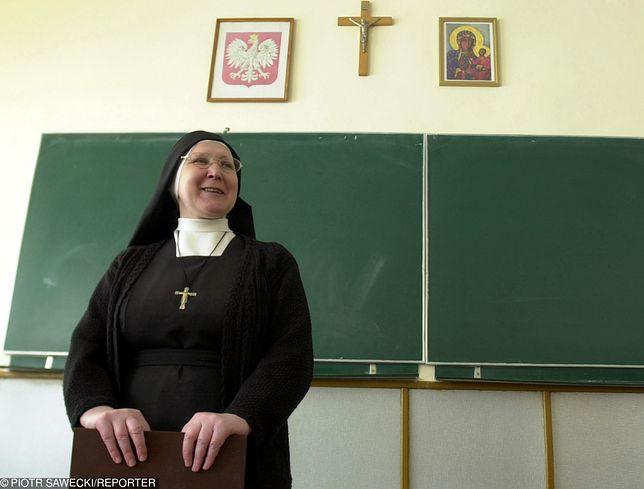 Zajęcia w religii w jednej z białostockich szkół