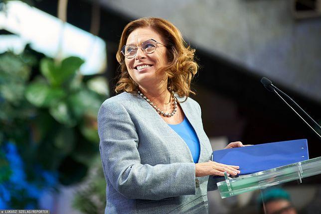 """Małgorzata Kidawa-Błońska nadzieją opozycji - pisze """"FAZ"""" o finiszu kampanii przed wyborami 2019"""