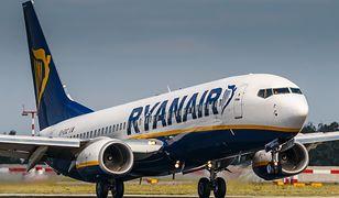 Opóźniony lot Ryanaira. Pasażerka otrzymała czek, ale jest jeden haczyk