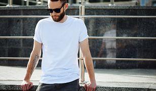 T-shirt – podstawa garderoby każdego faceta