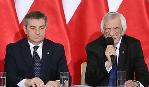 Marek Kuchciński i Ryszard Terlecki