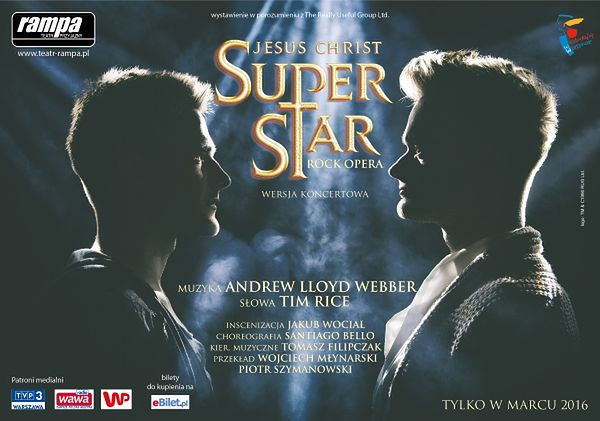 Teatr Rampa zaprasza premierowo na Jesus Christ Superstar