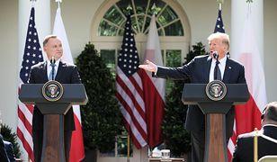 """Komentarze po spotkaniu Duda-Trump. """"Symboliczne, ale bez konkretów"""""""