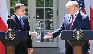 To już pewne: Andrzej Duda spotka się w Waszyngtonie z Donaldem Trumpem