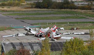 Wrak prezydenckiego Tu-154 wciąż jest w Rosji