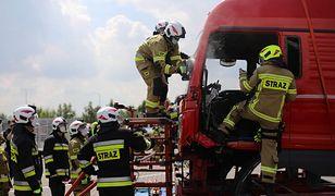 Kraków. Wybuch gazu w hucie (zdjęcie ilustracyjne)