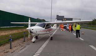 Awaryjne lądowanie awionetki na A1. Pilot podjął dramatyczną decyzję