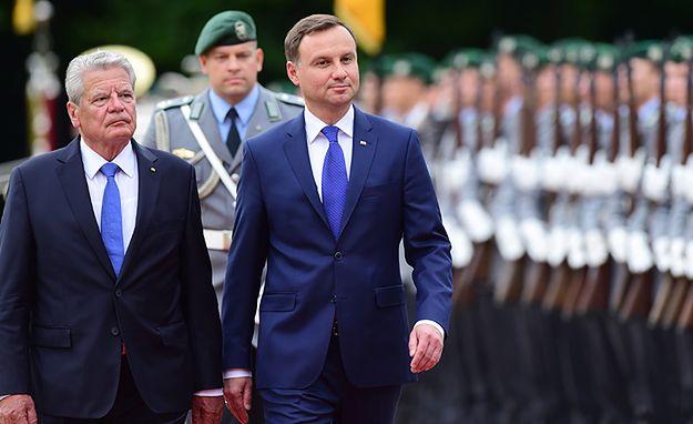 Niemcy: media o wizycie prezydenta Andrzeja Dudy