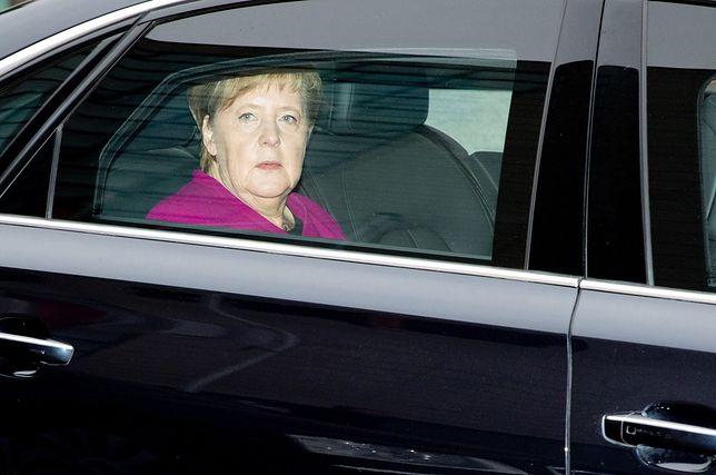 Niemiecka kanclerz przed spotkaniem najważniejszych polityków CDU w Berlinie