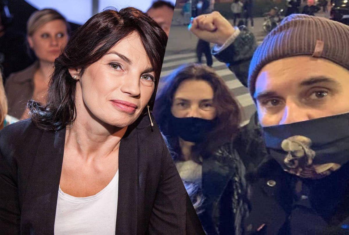 Mąż Anny Skrobiszewskiej został pobity podczas środowej demonstracji