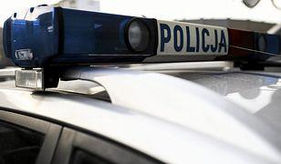 Napad w Ząbkach. Z BMW skradziono 200 tys. zł. 2 osoby ranne