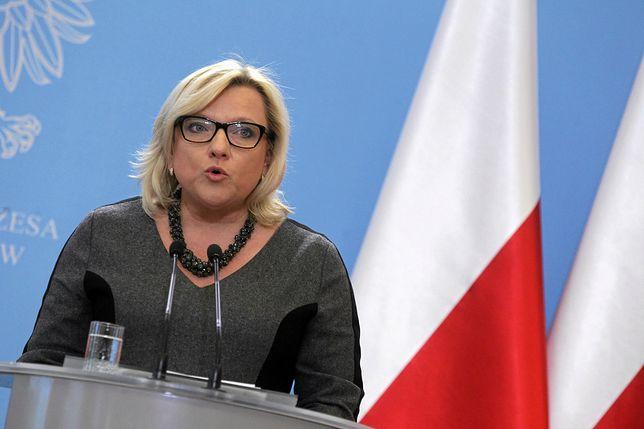 Beata Kempa powiedziała, że pomoc do Syrii będzie trafiać za pośrednictwem organizacji humanitarnych