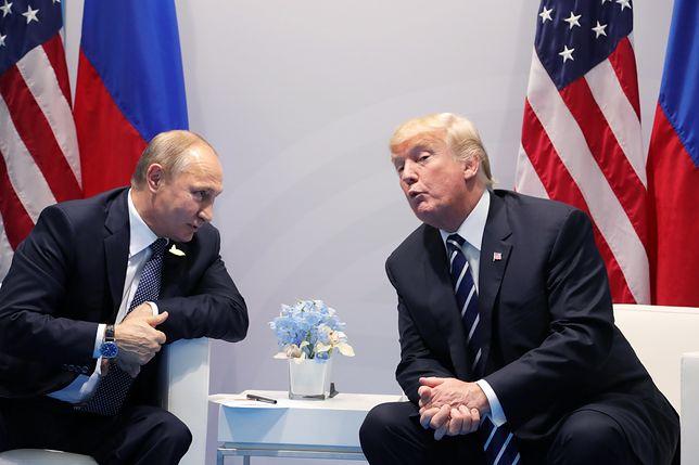 Trump o naciskach na Putina: gwałtownie zareagował