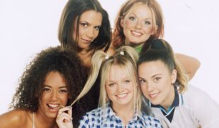 The Spice girls at a photoshoot in the sudio. /OKO NA SWIAT