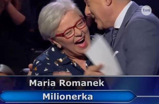 """Pani Maria zgarnęła milion. Zdradziła, na co wydała główną wygraną w """"Milionerach"""""""