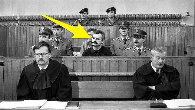 W czasie procesu Najmrodzkiego pilnowało aż 7 osób. Łącznie uciekał milicji 29 razy