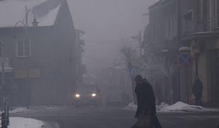 Problem smogu najmocniej dotyka niewielkie miejscowości.