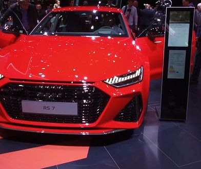 Frankfurt 2019: Audi RS7, czyli autostradowa torpeda
