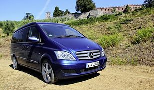 Mercedes Viano Marco Polo: kieszonkowy camper