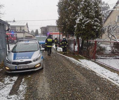 Czechowice-Dziedzice. Tragiczny pożar. W płomieniach zginęła 73-letnia kobieta