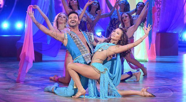 Stefano Terrazzino i Julia Wieniawa podczas półfinałowego odcinka tanecznego show Polsatu