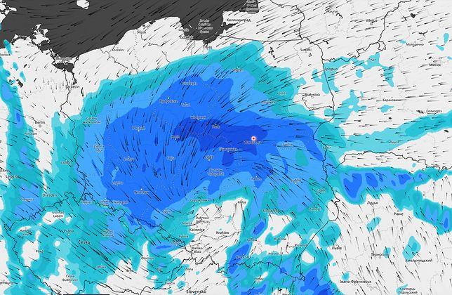 Pogoda. IMGW ostrzega przed silnym wiatrem i opadami deszczu. Zbliża się niż Daniel