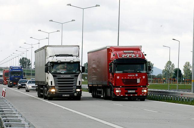 Będzie zakaz wyprzedzania dla ciężarówek?