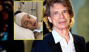 Syn Micka Jaggera pokazał zdjęcia tuż po operacji
