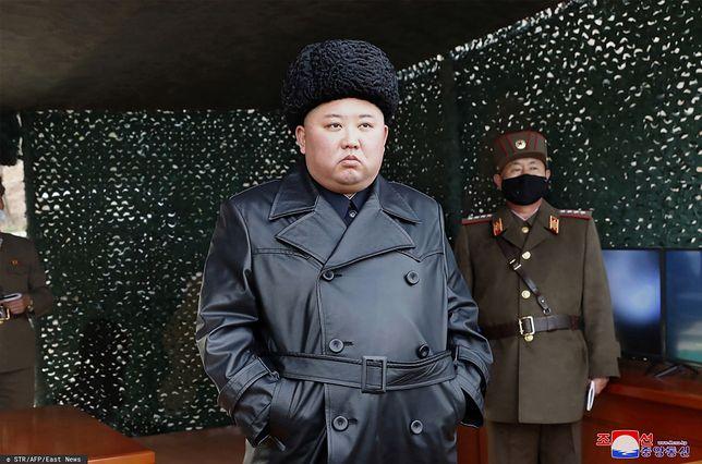 Koronawirus. Kim Dzong Un - przywódca KRLD
