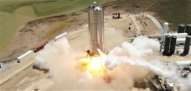 Spektakularny test SpaceX. Starship to rakieta, która zabierze ludzi na Marsa
