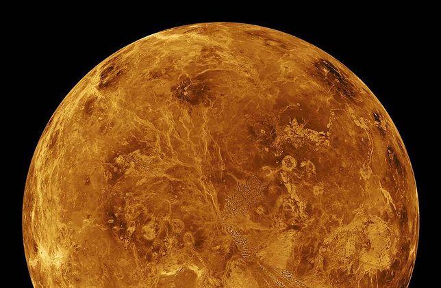 Wenus na zdjęciu NASA