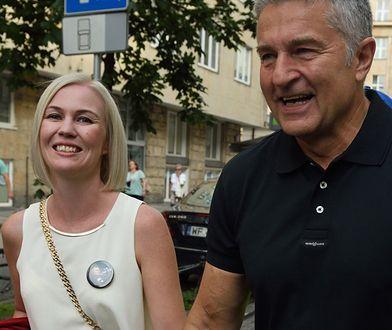 Magdalena Dobrzańska-Frasyniuk i Władysław Frasyniuk