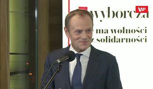 Wybory prezydenckie 2020. Donald Tusk zadowolony z prawyborów w PO