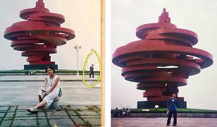 Według internautów te fotografie są dowodem na przeznaczeniem