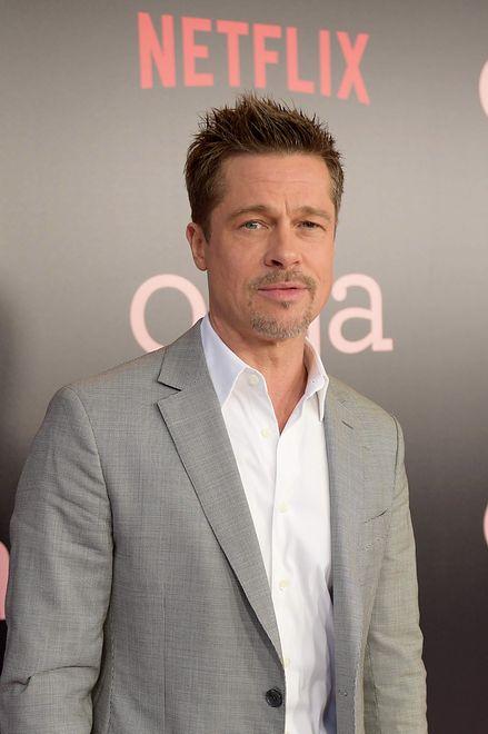 """Brad Pitt na premierze filmu  """"Okja"""", Nowy Jork, 2017"""
