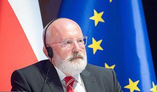 Bruksela. Frans Timmermans ma naciskać na komisarzy ws. skargi wobec Polski (zdj. arch)