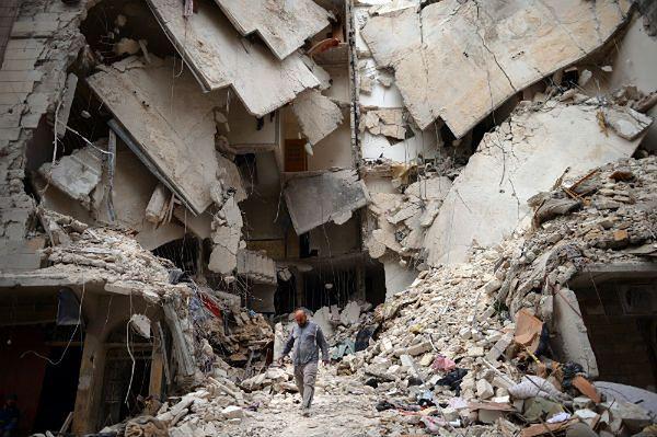 """""""Sueddeutsche Zeitung"""": Syria się wykrwawia, Zachód się przygląda"""