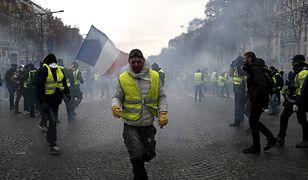 Macron zamierza negocjować z protestującymi
